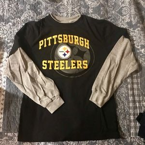 Pittsburgh Steelers youth 14/16 cotton long sleeve
